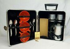 Vintage Executair TRAV-L-BAR Mini Coffee Perculator 720c Complete w Key WORKS!