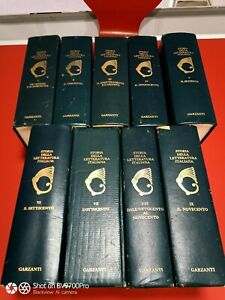 ENCICLOPEDIA DELLA LETTERATURA ITALIANA Garzanti 9 volumi