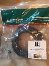 KRAMER C-HM/HM-15 di alta qualità Cavo HDMI 19 PIN 15ft 4.5m nuovo-spedizione nel Regno Unito