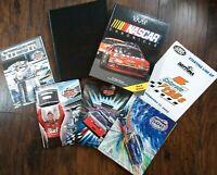 Lot of 5 LARGE NASCAR BOOKS & DAYTONA 500 PROGRAMS - VG COND.