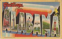 ALABAMA - LARGE LETTER - 1938