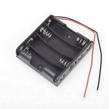 Battery Box Slot Holder Case for 4 Packs Standard AA 2A Batteries Stack 6V LY