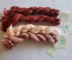 Needle Necessities 4 SPRING Yarn 30 yd Skeins Lot 378 324 376