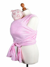 Palm & Pond Stretchy Pink Baby Wrap Sling Carrier Toddler Birth to 35lbs