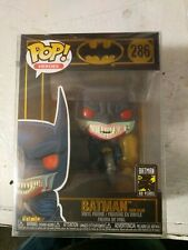Funko POP Batman RED RAIN #286 Dracula Vampire Blood FREE PROTECTOR DC Comics