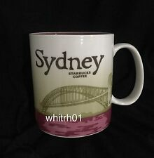 Starbucks Sydney Mug Australia Icon Harbour Bridge Coffee Cup Parramatta River