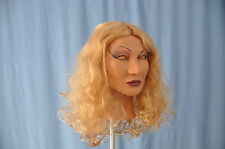 Female Mask Elli SPT Latex Cosplay Masks!  With Wig