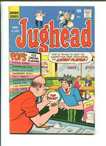 """JUGHEAD #193 - ARCHIE SERIES """"The Fisherman Collection"""" (5.0) 1971"""