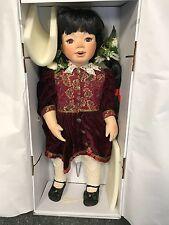 Künstlerpuppe Porzellan Puppe 68 cm. Top Zustand