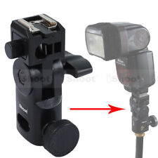 Hot Shoe Mount Flash Bracket/Umbrella Holder for Canon Nikon Pentax Speedlight