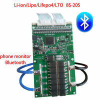 Smart Lifepo4 li-ion Lipo LTO Battery Protection Board BMS Bluetooth 8S-20S 16S