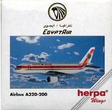 NEW HERPA WINGS 501514 EGYPT AIR AIRBUS A320-200 SCALE 1:500 NIB DIE CAST MODEL