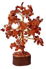 Carnelian Stone Spiritual Reiki Feng Shui Tree Table Décor Healing Crystal