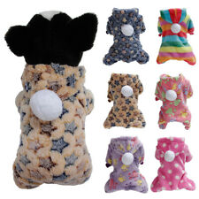 Pet Dog Cat Jacket Soft Fleece Winter Coat Jumpsuits For Chihuahua Clothing cute