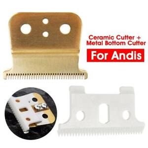 2pc T-outliner Replace Ceramic Cutter Premium Blade Mod For Andis Electric Shear