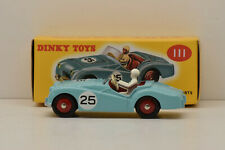 Promo Triumph TR2 Sport #25 Blue Dinky Toys 1/43 New IN Box