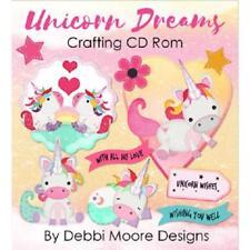 Debbi Moore Designs Unicorn Dreams Papercrafting CD Rom (329939)