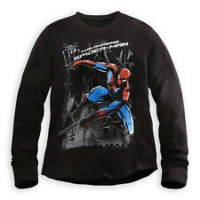 The Amazing Spider-Man Superior Spiderman Thermal Tee for Men Size M Jacket New