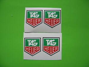 TAG HEUER sticker/decal x4
