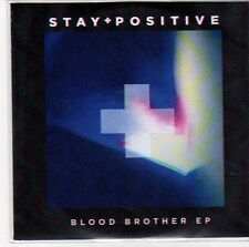 (EE552) Stay Positive, Blood Brother EP - DJ CD