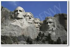 Mt. Rushmore - Black Hills South Dakota - NEW USA America Travel School POSTER