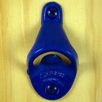Starr Blue STANDARD Type Wall Mount Bottle Opener - Powder Coated Finish - NEW!!