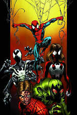 Marvel Ultimate Spiderman Premiere Edition Hardcover Graphic Novel Clone Saga