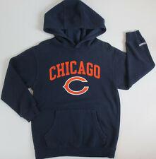 Chicago Bears Reebok Youth Boys Size 8 Hoodie Hooded Sweatshirt