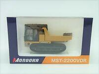 Morooka Rubber Crawler carrier MST-2200VDR 1/50 Diecast Model machinery miniatur