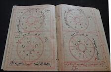 OCCULT ARABIC MANUSCRIPT AL ISTORLAB 1336 AH (1917 AD):