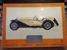 Pocher 1932 Alfa Romeo Spider Touring Gran Sport 1:8 Scale Plastic Model Car Kit