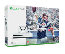 Microsoft Xbox One S Madden NFL 17 Bundle 1TB White Console - NEW!