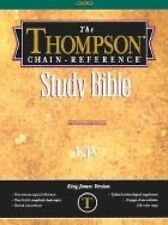 NEW (GD) Thompson Chain Reference Bible (Style 506 black) - Regular Size KJV - G