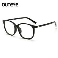 Clear Lens Eyeglasses Frame Retro Vintage Round Men Women Eyewear Nerd Glasses D