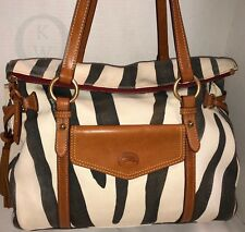 *Dooney & Bourke*Zebra*Smith Bag*18217S S191