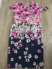 Floral Dress By Adrianna Papell Size 14 New With Tag