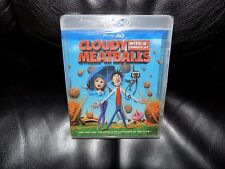 Cloudy With a Chance of Meatballs (Blu-ray Disc, 2010, 3D) NEW LAST ONE