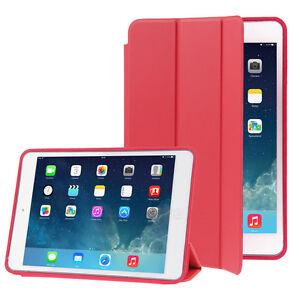 CUSTODIA Integrale per Apple iPad PRO 9.7 ROSSO SMART COVER SUPPORTO
