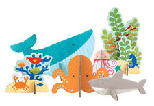 Petit Collage Pop-out and Play Ocean Fish Sea Creatures Creative Toy Gift