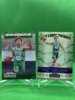 2019-20 Panini Contenders Romeo Langford Rookie Of The Year Prizm Lot Celtics