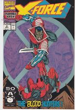 X-FORCE  #2 1991 -BLOOD HUNTERS- DEADPOOL-c/story 2ND APP. ROB LIEFELD..NM-