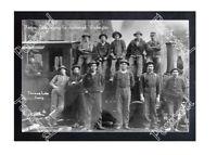 HISTORIC THOMAS LAKE LOGGING Co. SNOHOMISH, WASHINGTON TRAIN POSTCARD