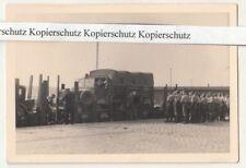 Foto Soldaten Eisenbahn Wagen Mercedes LKW Schneidemühl polska 2 Wk WW2 !