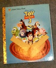 a Little Golden Book Disney Toy Story 3 by Annie Auerbach 2010, First Edition