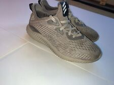 Adidas Alpha Bounce Tan Running Shoes Size Kids 5 And 1/2