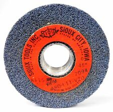 """SIOUX, VALVE SEAT GRINDING WHEEL, A80-L11-V20, MAX RPM 7094, 3"""" OD, 45 GRIT"""