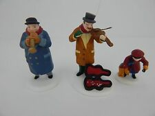 Dept 56 Christmas in the City Street Musicians #55646 New Never Displayed b