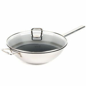 Vivo by Villeroy & Boch Group CW0570 Non-Stick Wok | 30 cm | Glass Lid