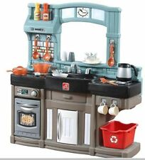 Kitchen Playset 25 pc Step2 Best Chef's Realistic Play Oven Refrigerator Stove
