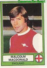 MALCOLM MACDONALD ENGLAND ARSENAL.FC VIGNETTE STICKER EURO FOOTBALL 78 PANINI